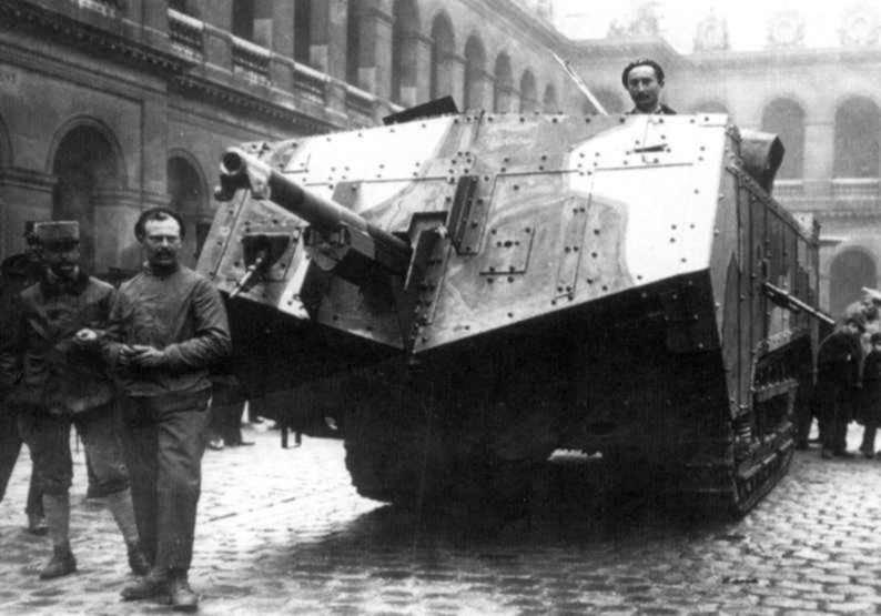 Танк СА-1