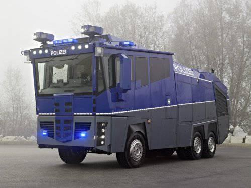 Немецкий спецназ получит машину за миллион евро