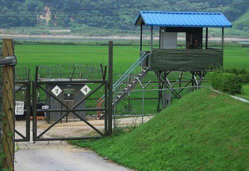 Границу Южной Кореи охраняет робот