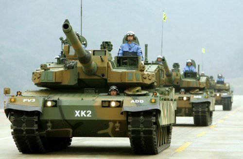 Корейский ОБТ K2 «Черная пантера»