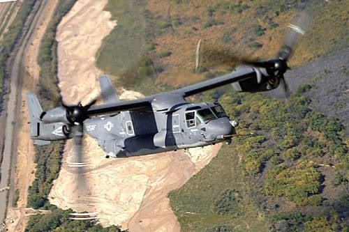 Dönüştürülebilir CV-22 Osprey USAF