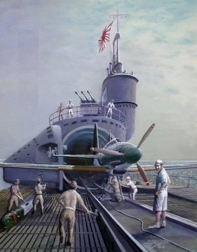 """""""Denizaltı uçak gemileri"""""""
