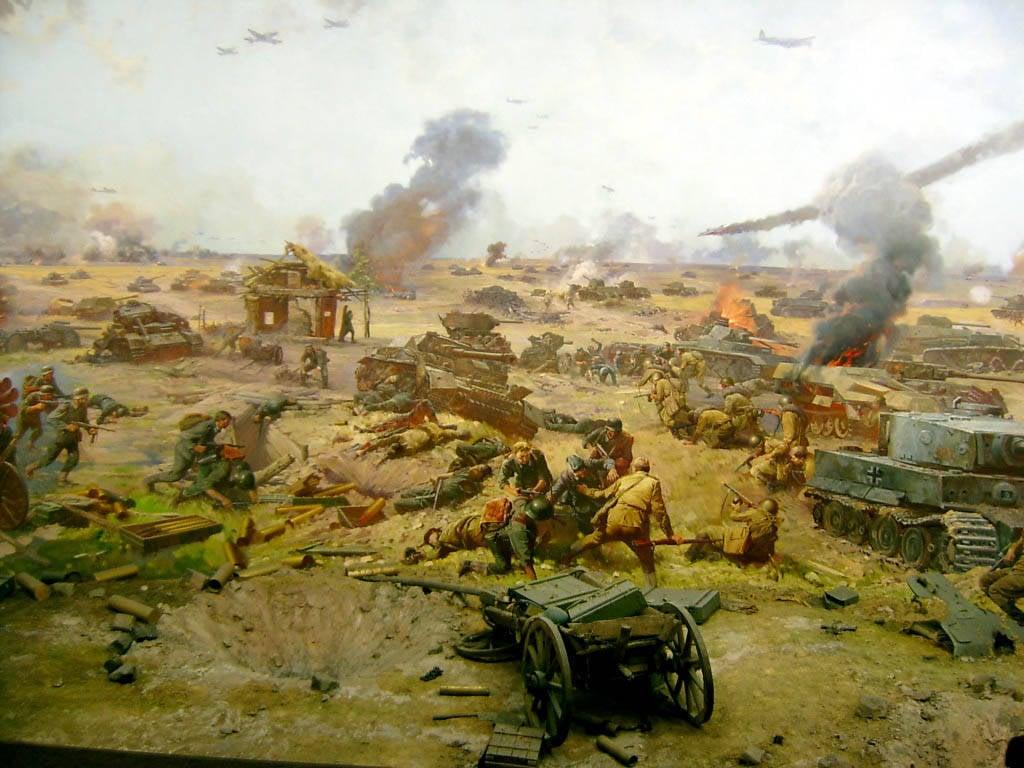 Картинка 323948 / война, бойня, бой, битва, вторая великая отечественная война, картина, поле, солдаты, русские...