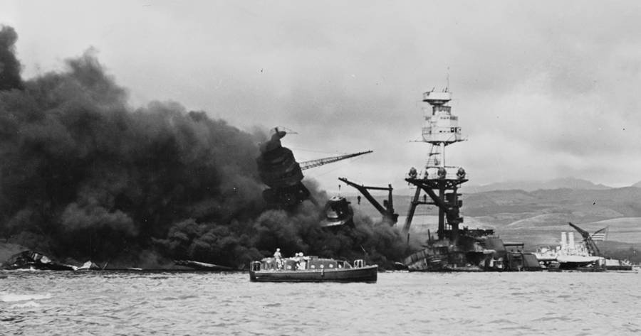battleship arizona finally sees the light of day Japanese bombs also sink battleship arizona is damaged by concussion from torpedo exploding in light 'the official chronology of the us navy.