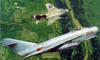 MiG-21 vs. Phantom
