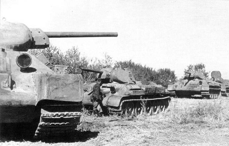 Una vez más sobre tanques, soviéticos y alemanes.