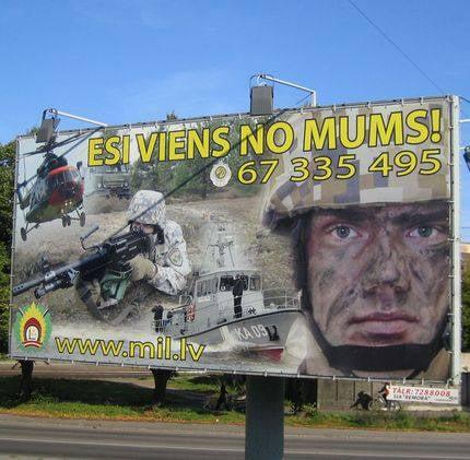 軍の最高のコマーシャル:ウクライナ人とエストニア人はすべての中で最もおかしなことになった
