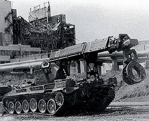 Боевые машины разминирования