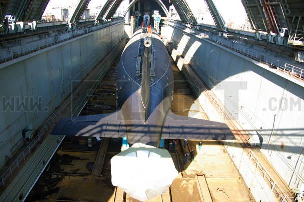 российские подводные лодки северодвинск