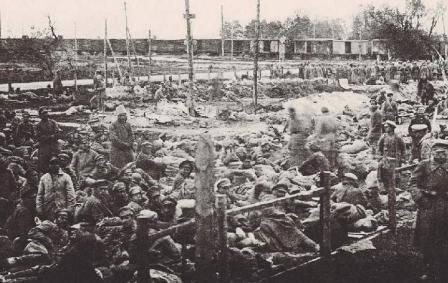 波兰难民营中的红军囚犯