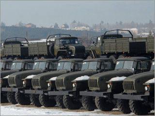 """汽车厂""""乌拉尔""""将为军队展示原型车"""