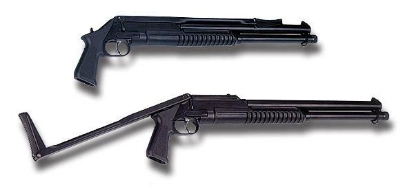 Remington 870.  Один из самых известных в мире дробовиков.  Про надежность и ресурс этой модели ходят легенды.