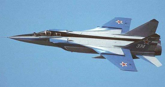 35 лет назад истребитель МиГ-31 совершил первый полет