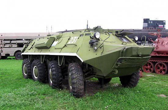 Бронетранспортер БТР-60ПА