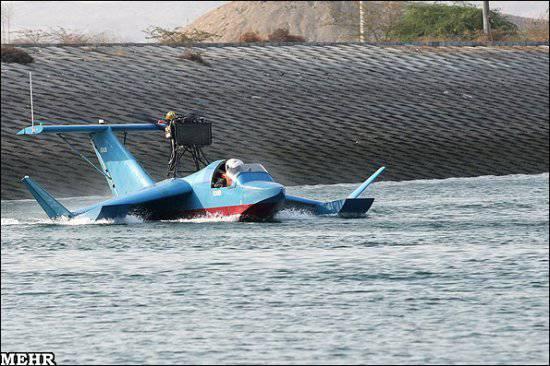 Иран клепает эскадрильи железных летающих лодок-невидимок