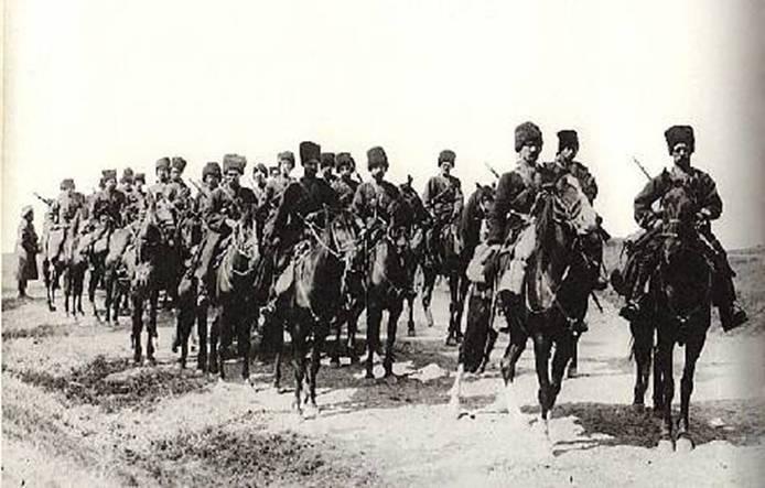 1914-й год, терские казаки уходят на Первую мировую войну. Все материалы П