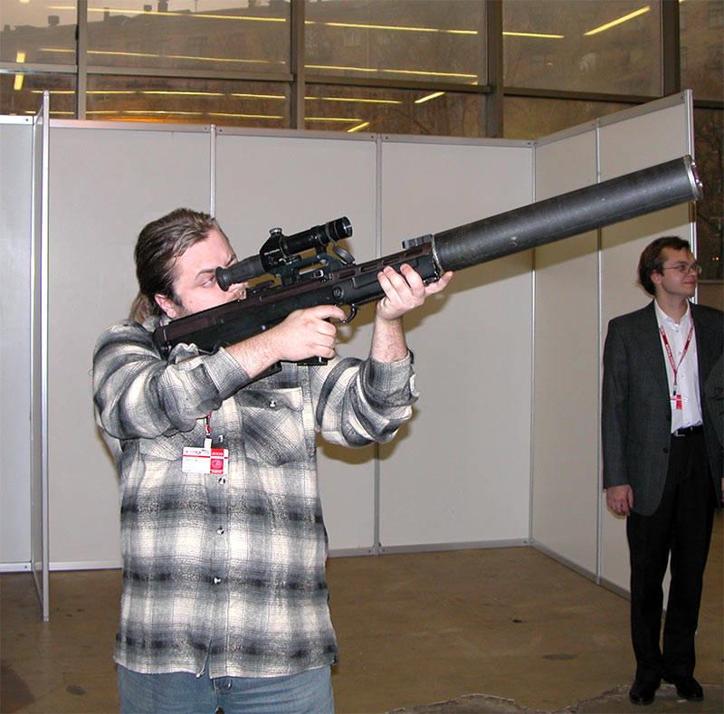 Масса винтовки без оптического