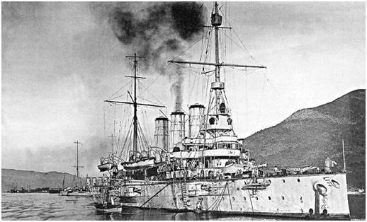 कैसे रूसी नाविकों ने अपने राज्य और ध्वज के सम्मान पर शर्म की अनुमति नहीं दी
