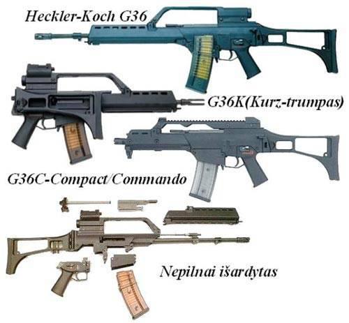 Fusil de asalto G.36