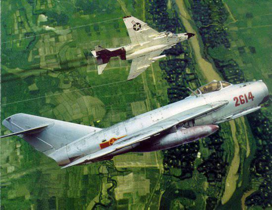 После нашего появления во Вьетнаме американские летчики отказывались летать