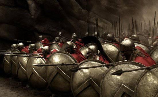 Миф про 300 спартанцев