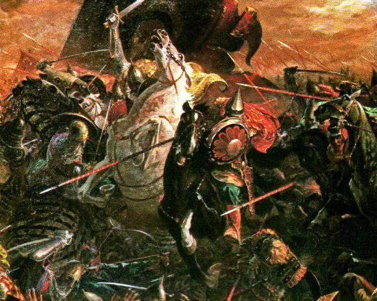 схема битвы на куликовом поле.