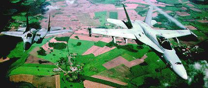 Fulcrum (MiG-29) vs Hornet