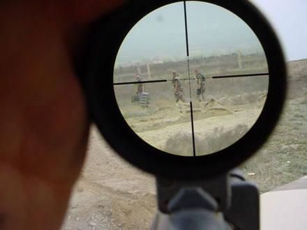 У Печерского суда появились снайперы