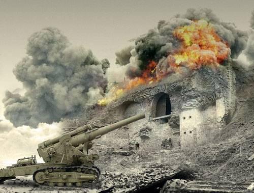 Artillerie vs Citadelle