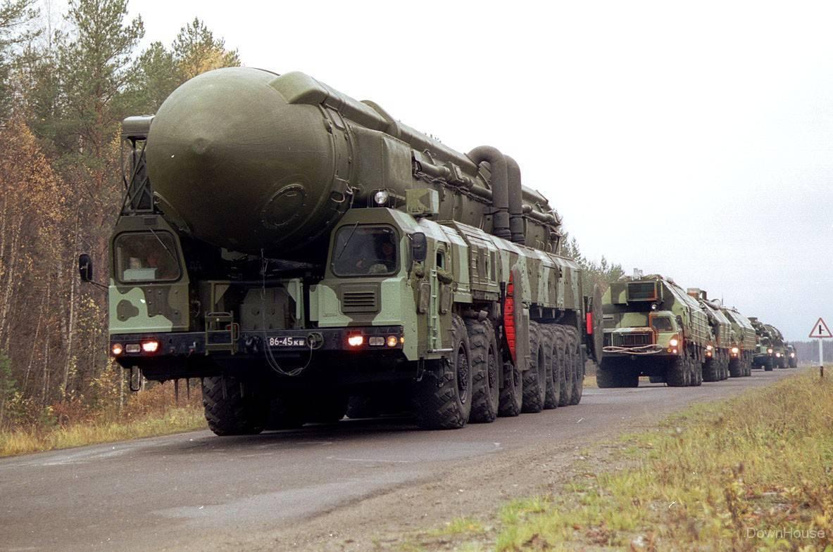 Tên lửa đạn đạo liên lục địa của Nga