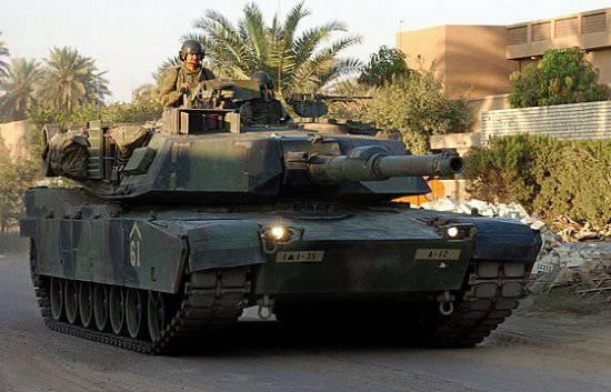Иракская армия перевооружается с танков Т-72 на американские «Абрамс