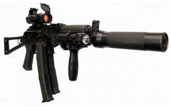 Пистолет-пулемет ПП-19-01 «Витязь»