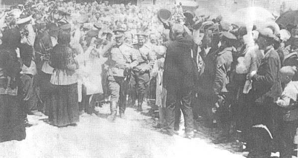 Генерала деникина после освобождения