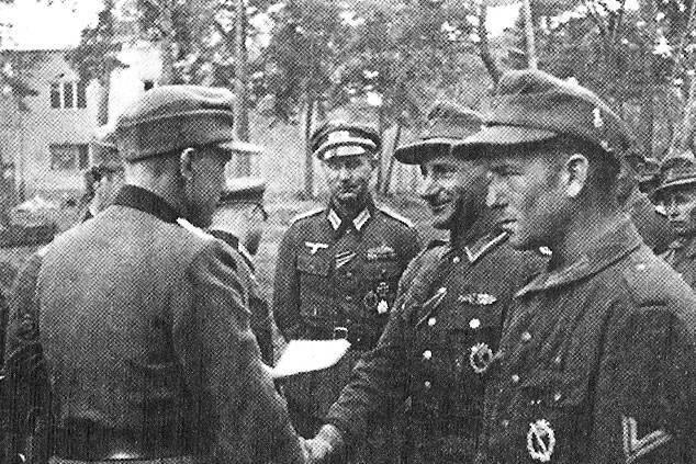 Иностранные добровольческие легионы и корпуса СС на Восточном ...