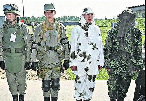 В армии введена новая форма