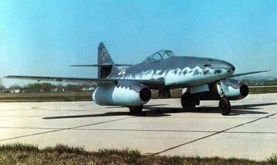 Me 262 первый серийный боевой