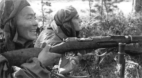 Sniper Semen Nomokonov