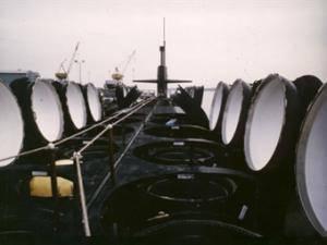 नई अमेरिकी पनडुब्बी हाथ त्रिशूल मिसाइल