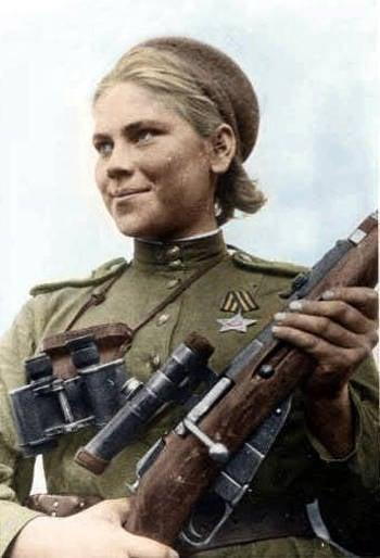 Sniper Rose Shanina