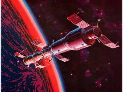 Sowjetische Militärorbitalstation
