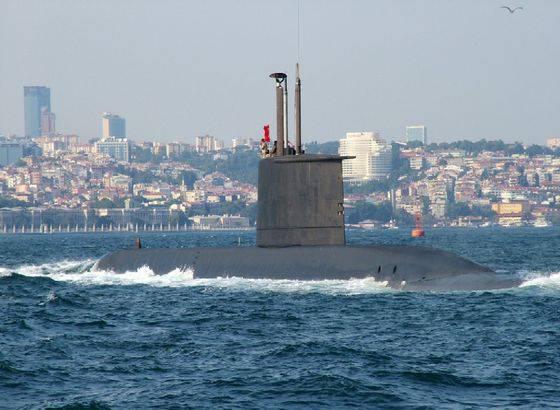 Турецкий подводный флот