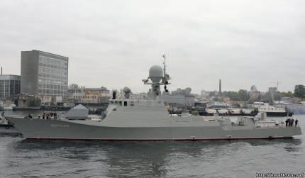 """प्रोजेक्ट 21630 """"क्रेयान"""" - एक छोटा सा तोपखाना जहाज"""