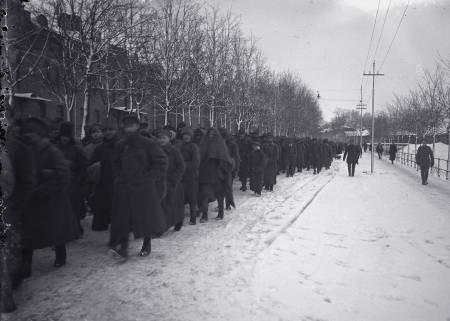 Русских белогвардейцев в концлагерях