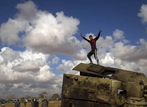 लीबिया के युद्ध के क्रॉनिकल