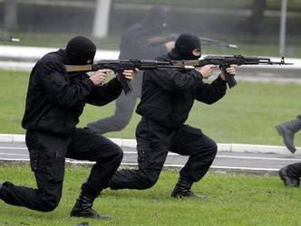 बेलारूस में, विशेष बलों के रैंक का विस्तार