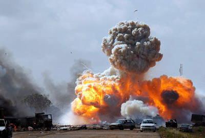 गठबंधन को पता नहीं है कि लीबिया में बमबारी की समाप्ति का समय क्या है