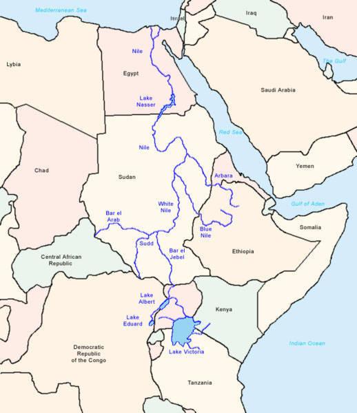 La guerra del agua se está gestando en África