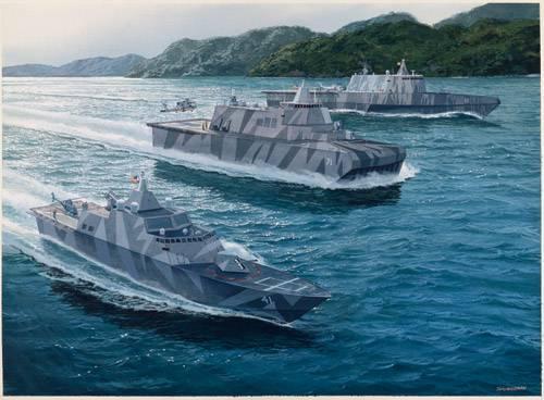 नए वर्ग के प्रभाव वाले जहाज