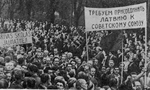 О присоединении Прибалтики и Бессарабии к СССР
