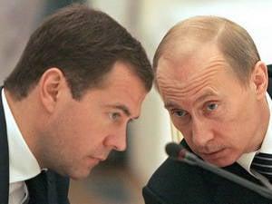 Россияне не верят тандему